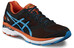 asics GT-2000 4 Shoe Men Black/Blue Jewel/Flame Orange